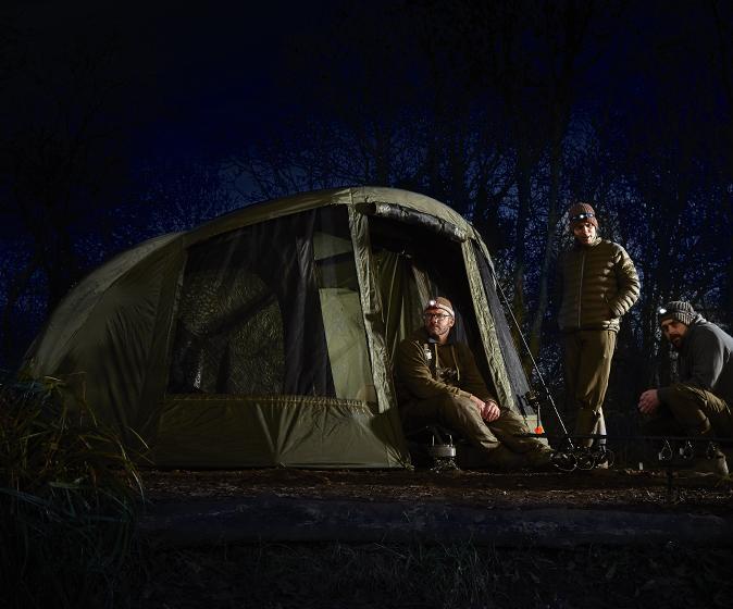 Anglia legnagyobb pontyos kiállításán mutatták be elsőként a nagy sikerű Colossus sátor utódját a Superdome Bivvy-t