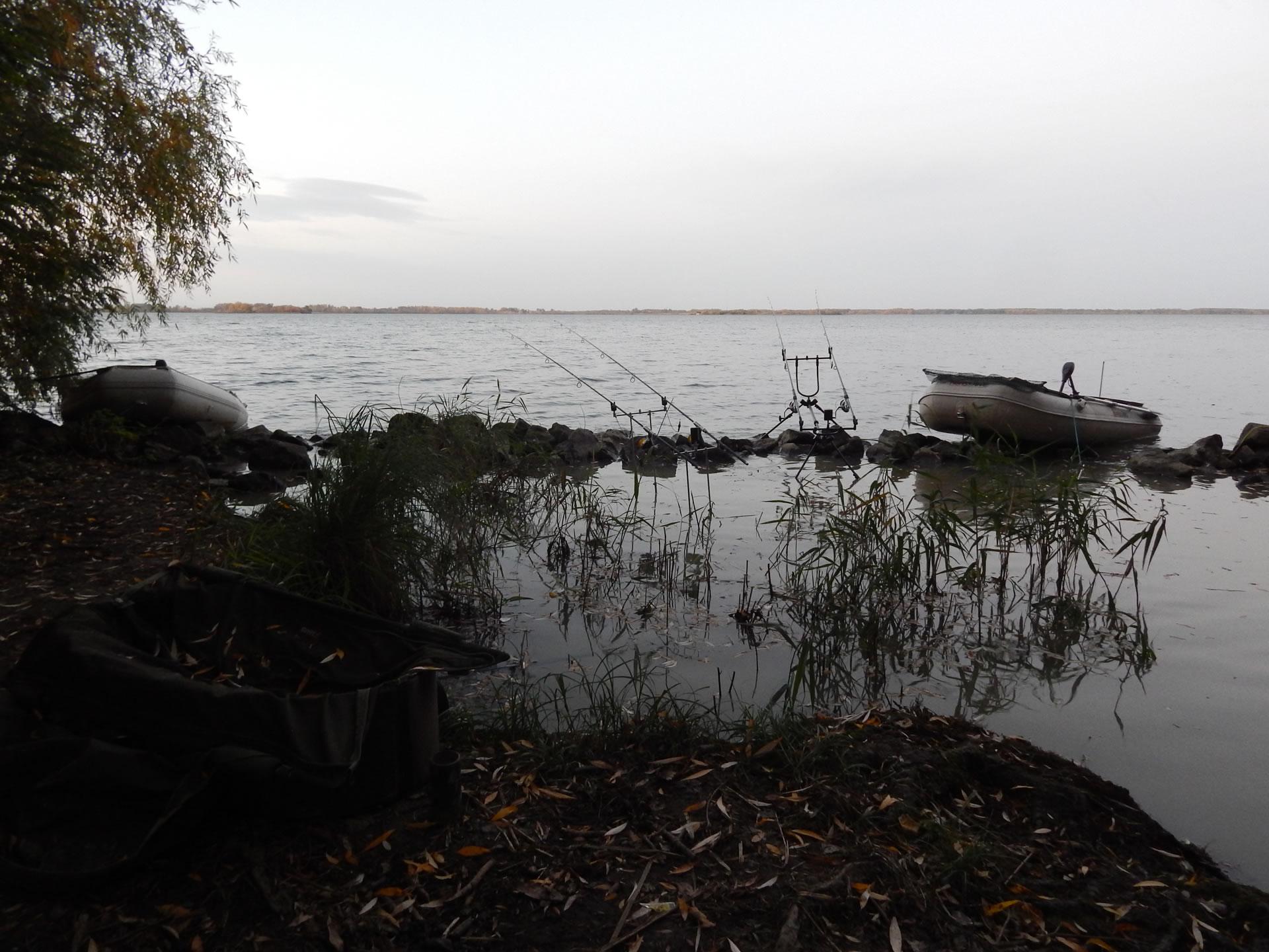 Horgászhelyünk: egy kis pont az óriási vízen